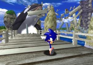 Sonic Adventure - killer whale