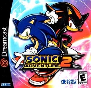 Sonic Adventure - Sonic Adventure 2 cover