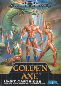 Golden Axe - Mega Drive