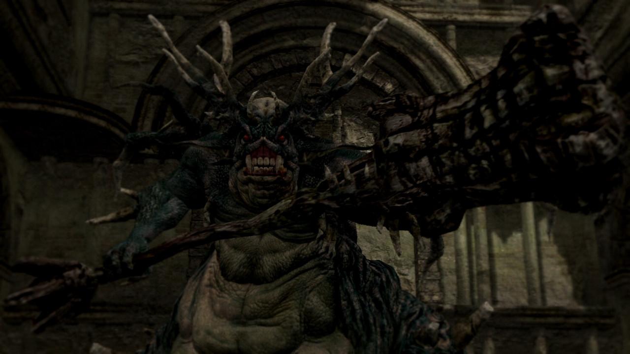 Myke Review: Dark Souls II Dark-souls-asylum-demon