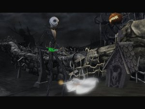 13 horror games - The Nightmare Before Christmas - Oogie's Revenge